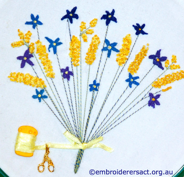 Stitched Wildflowers