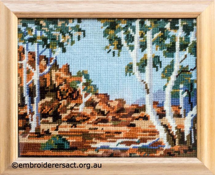 Tapestry Desert Scene