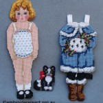 Canvaswork Doll