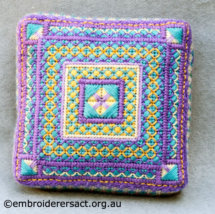 Canvaswork Pincushion