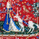 Miniature of Cluny Tapestry