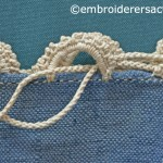 Needlelace detail