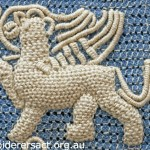 Detail of Casalguidi Lion