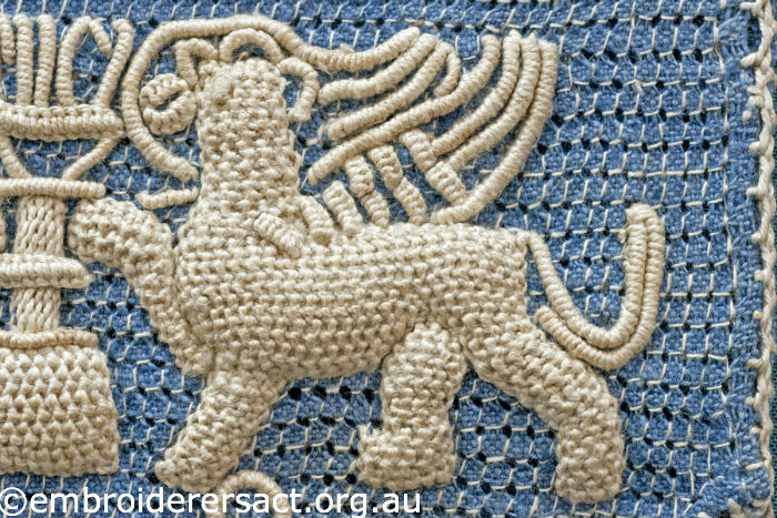 Detail of Casalguidi Lion