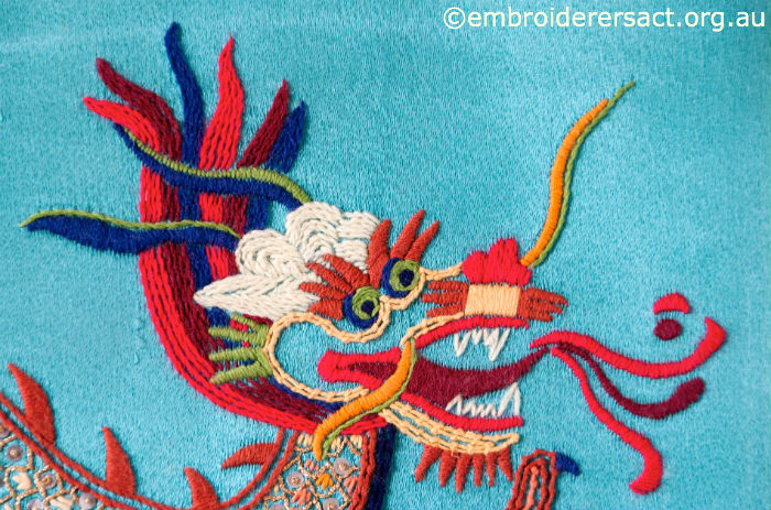 Embroidered Dragon