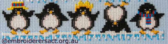 Detail of Penguin Triangle