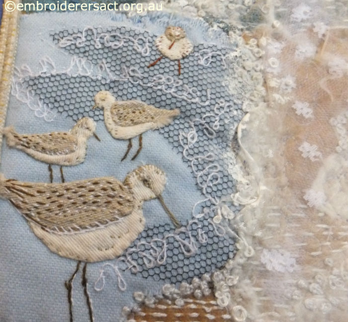 Detail of Textured Seascape