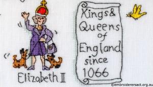 Elisabeth II Barbara Bailey X Stitch