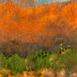 Stitched landscape of Flinders Ranges