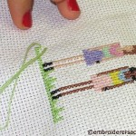Cross Stitch in Progress