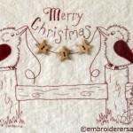 Kookaburra Christmas Stitchery
