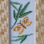Yellow Butterfly Cross Stitch