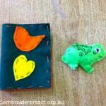 Felt Needlecase & Frog Feltie