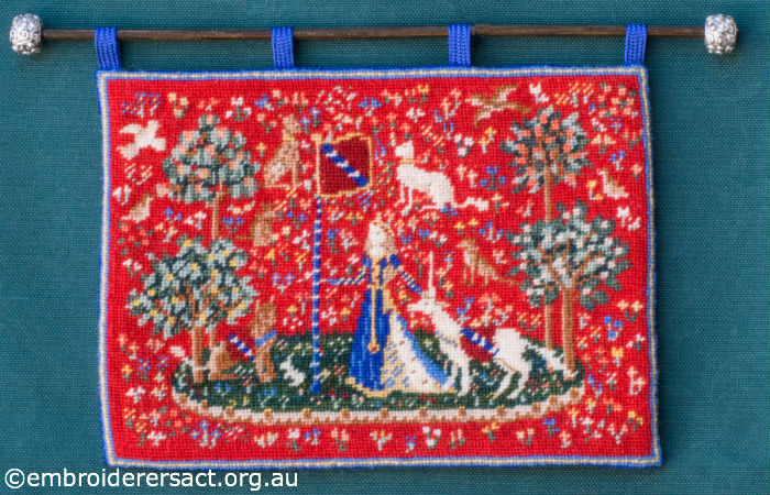 Miniature Cluny Tapestry