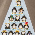 Penguin Triangle Cross Stitch
