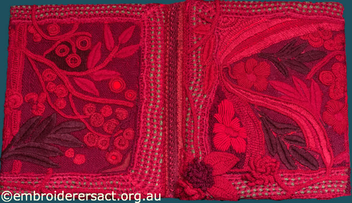 Red Textile Diary