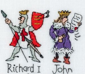 Richard I and John