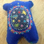 Blue softie bear