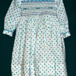 Smocked Turquoise Dress