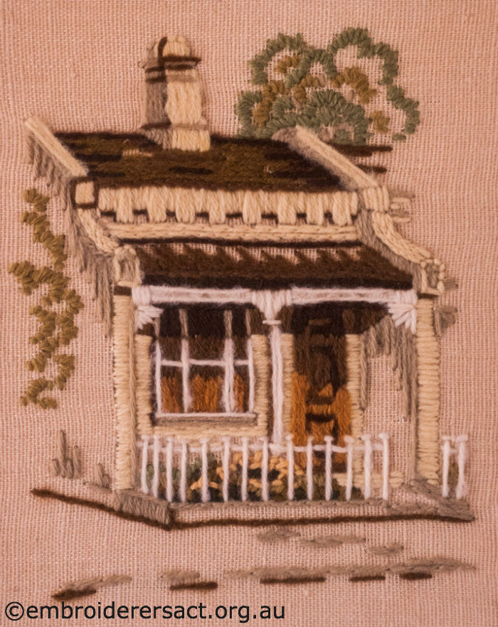 Terrace House Wool Embroidery
