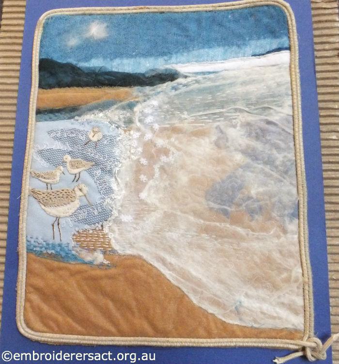 Contemporary Textured Seascape