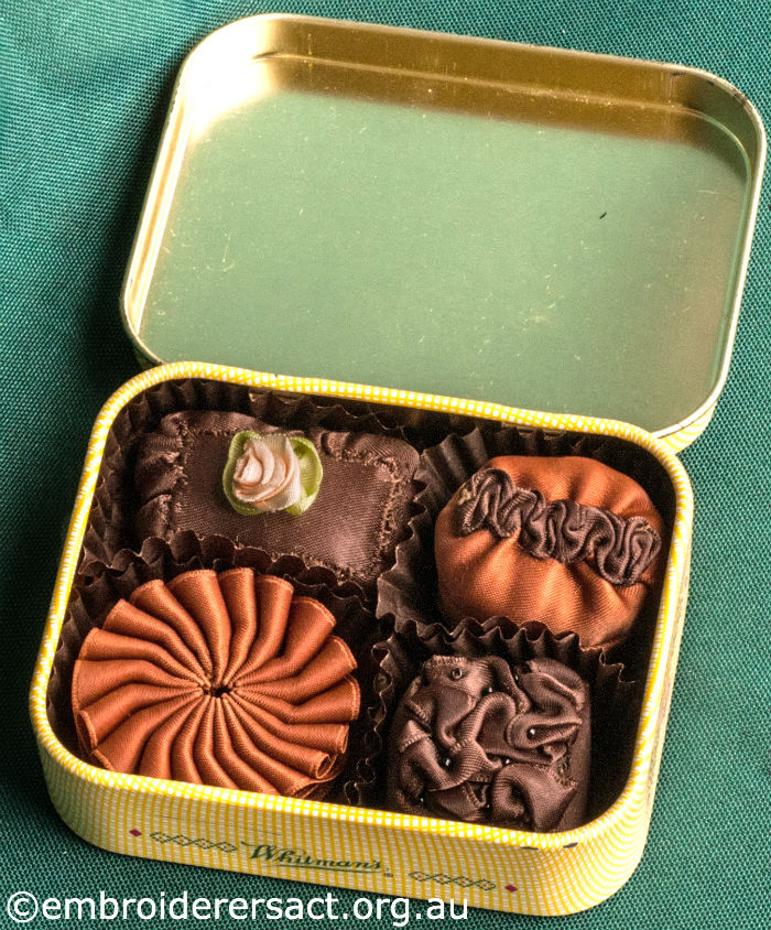 Stitched Tin of Chocolates