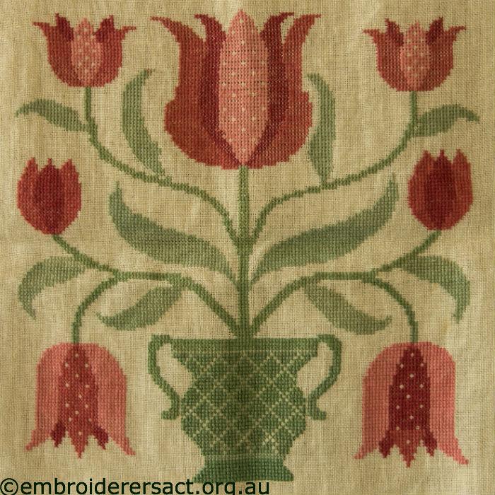 Tulips X-stitch
