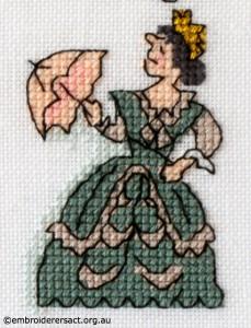 Victoria Barbara Bailey X stitch
