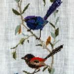 Wrens Cross Stitch