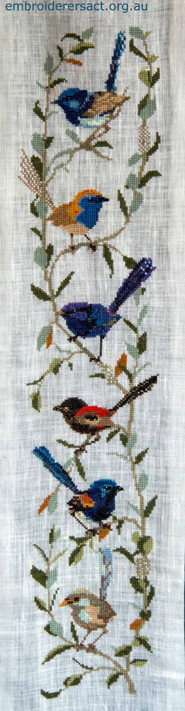 Wrens Cross Stitch