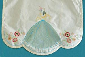 Bottom half of Vintage Semco Apron stitched by Carmen Zanetti