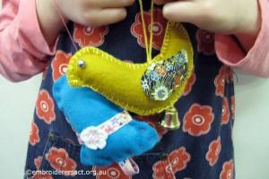 Christine Young Stitcher Xmas ornaments