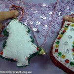 Stitched Xmas Ornaments