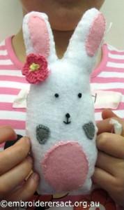 Kimberley Young Stitcher Bunny Feltie