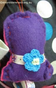 Melanie Young Stitcher Xmas Bell Ornament