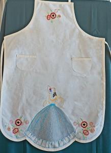 Vintage Semco Apron stitched by Carmen Zanetti