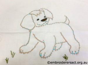 Barbara Adams - Candlewick Dog