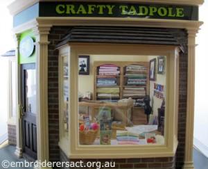 Crafty Tadpole 1 by Doreen McGregor