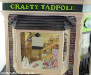 Crafty Tadpole Dollhouse 10 by Doreen McGregor