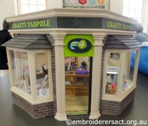 Crafty Tadpole Dollhouse 15 by Doreen Mcgregor