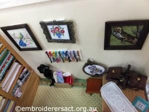 Crafty Tadpole Dollhouse 16 by Doreen McGregor
