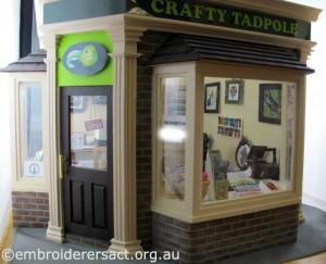 Crafty Tadpole Dollhouse 2 A by Doreen McGregor