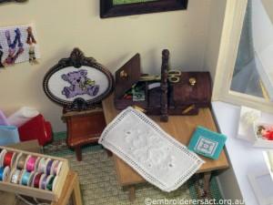 Crafty Tadpole Dollhouse 8 by Doreen McGregor