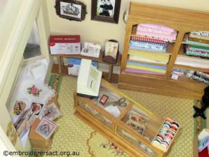 Crafty Tadpole Dollhouse 9 by Doreen McGregor