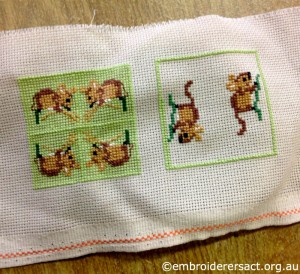 Glenda Hudson - mice x-stitch