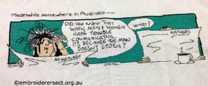 Ruth Jackson - Women and Men Communication x-stitch