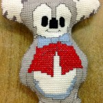 Koala Softie in Cross Stitch