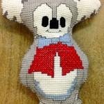 Koala Softie in Cross Stitch