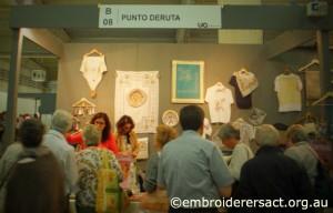 Accademia Punto Deruta Stall at Italia Invita 2013