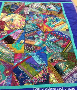 Crazy Patchwork by Sharon Boggon